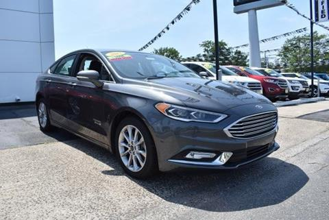 2017 Ford Fusion Energi for sale in Calverton, NY