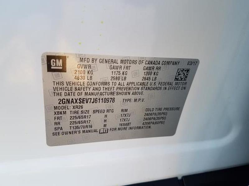 2018 Chevrolet Equinox 18