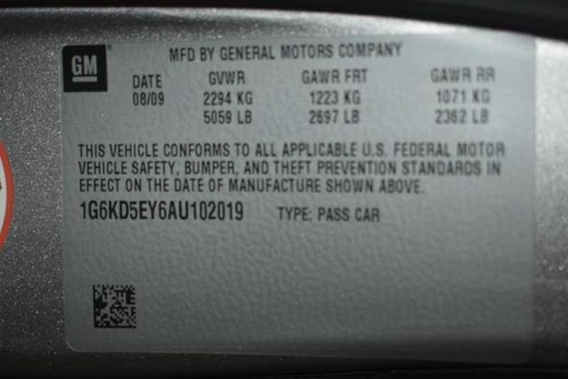 2010 Cadillac DTS 23