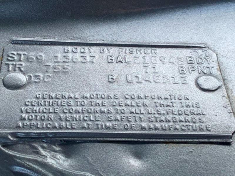 1969 Chevrolet Chevelle Malibu 73
