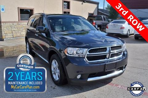 2013 Dodge Durango for sale at LAKESIDE MOTORS, INC. in Sachse TX