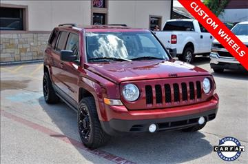2015 Jeep Patriot for sale at LAKESIDE MOTORS, INC. in Sachse TX