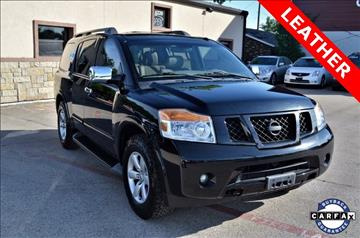 2012 Nissan Armada for sale at LAKESIDE MOTORS, INC. in Sachse TX