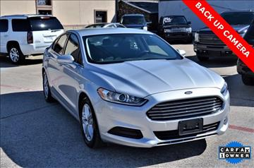 2016 Ford Fusion for sale at LAKESIDE MOTORS, INC. in Sachse TX