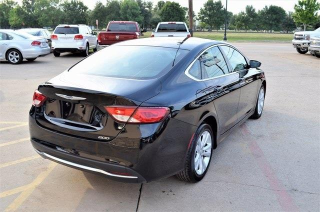 2016 Chrysler 200 for sale at LAKESIDE MOTORS, INC. in Sachse TX
