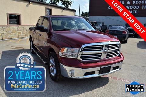 2014 RAM Ram Pickup 1500 for sale at LAKESIDE MOTORS, INC. in Sachse TX