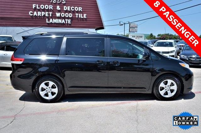 2014 Toyota Sienna for sale at LAKESIDE MOTORS, INC. in Sachse TX
