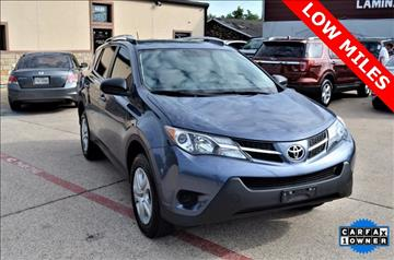 2014 Toyota RAV4 for sale at LAKESIDE MOTORS, INC. in Sachse TX