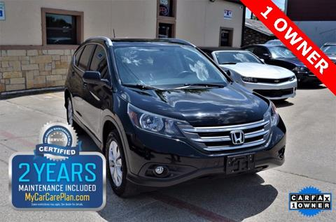 2013 Honda CR-V for sale at LAKESIDE MOTORS, INC. in Sachse TX