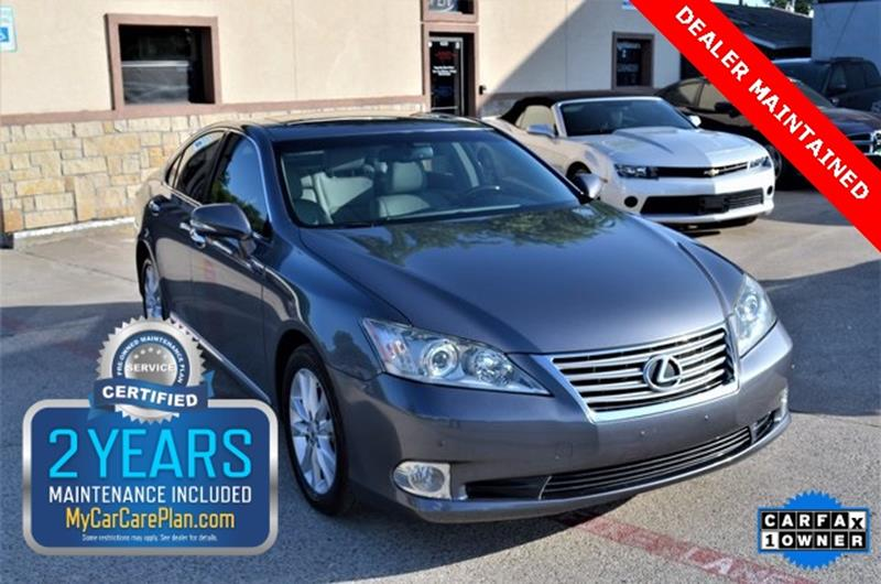 2012 Lexus ES 350 for sale at LAKESIDE MOTORS, INC. in Sachse TX