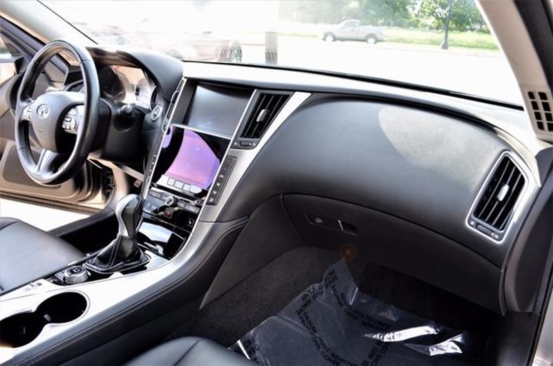 2014 Infiniti Q50 for sale at LAKESIDE MOTORS, INC. in Sachse TX