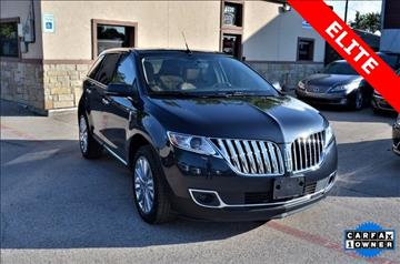 2013 Lincoln MKX for sale at LAKESIDE MOTORS, INC. in Sachse TX