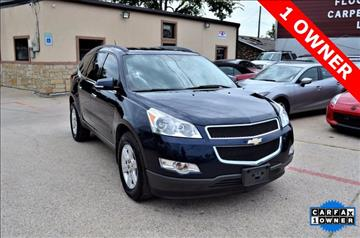 2012 Chevrolet Traverse for sale at LAKESIDE MOTORS, INC. in Sachse TX