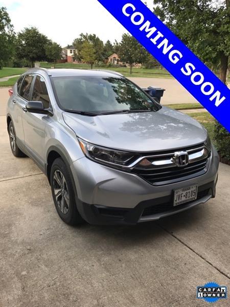 2017 Honda CR-V for sale at LAKESIDE MOTORS, INC. in Sachse TX