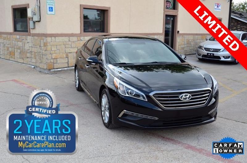 2015 Hyundai Sonata for sale at LAKESIDE MOTORS, INC. in Sachse TX
