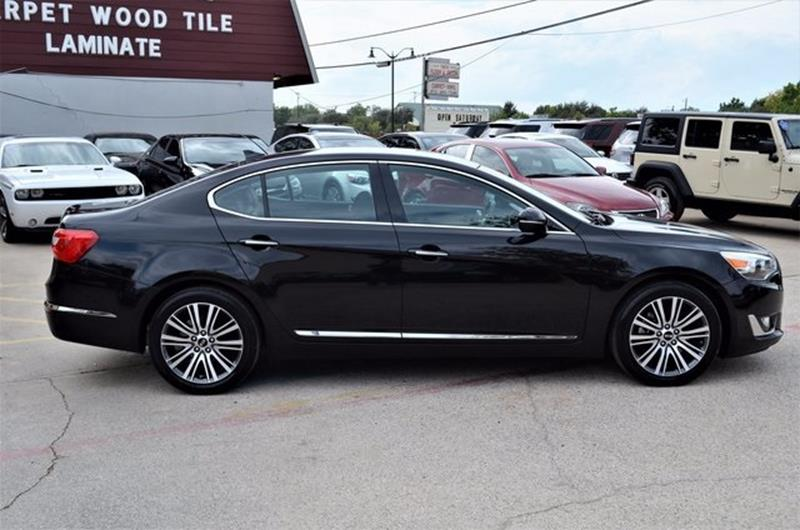 2014 Kia Cadenza for sale at LAKESIDE MOTORS, INC. in Sachse TX