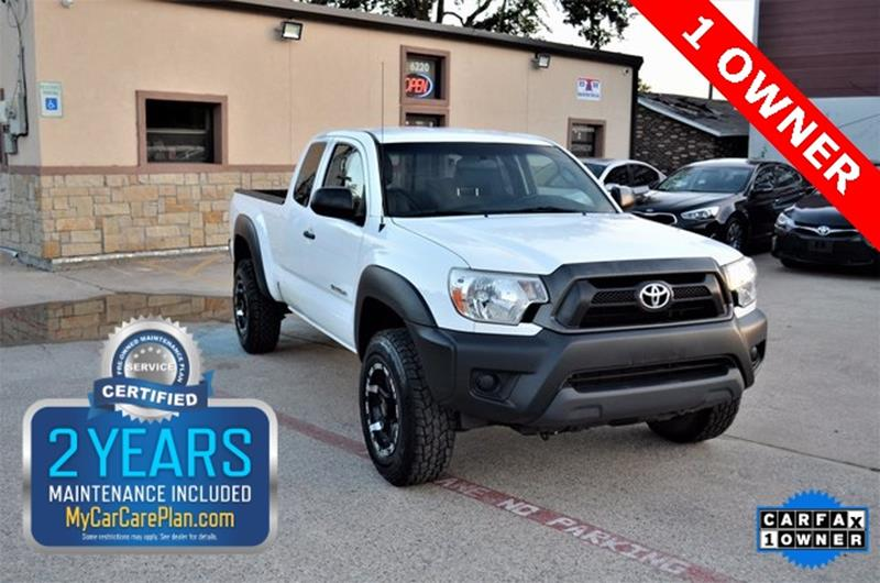 2014 Toyota Tacoma for sale at LAKESIDE MOTORS, INC. in Sachse TX