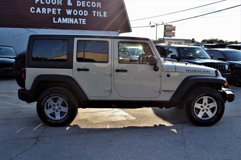 2011 Jeep Wrangler Unlimited for sale at LAKESIDE MOTORS, INC. in Sachse TX