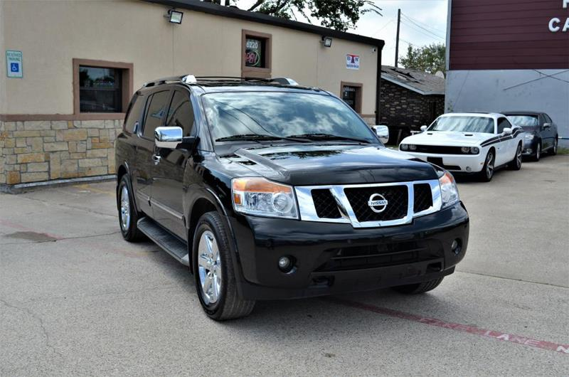 2013 Nissan Armada for sale at LAKESIDE MOTORS, INC. in Sachse TX