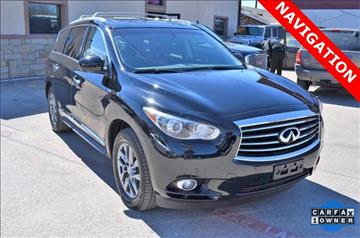 2013 Infiniti JX35 for sale at LAKESIDE MOTORS, INC. in Sachse TX
