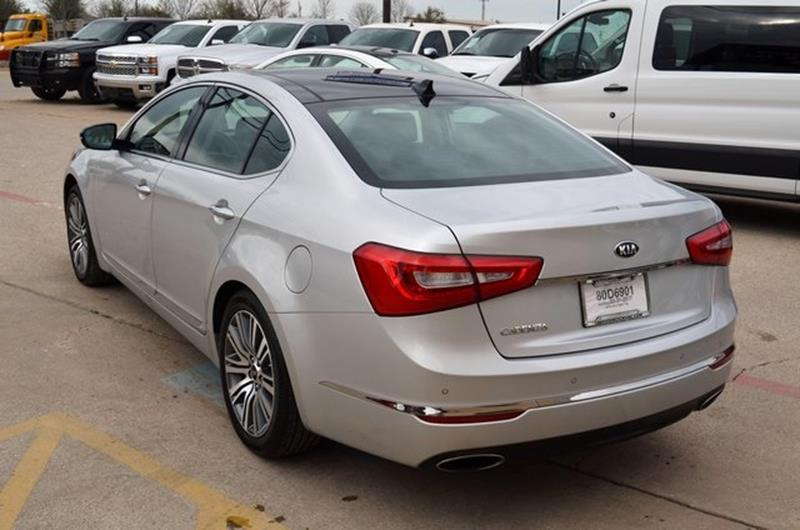 2016 Kia Cadenza for sale at LAKESIDE MOTORS, INC. in Sachse TX