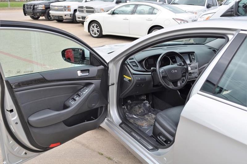 2016 Kia Cadenza for sale at LAKESIDE MOTORS, INC. in Sachse TX
