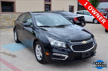 2015 Chevrolet Cruze for sale at LAKESIDE MOTORS, INC. in Sachse TX