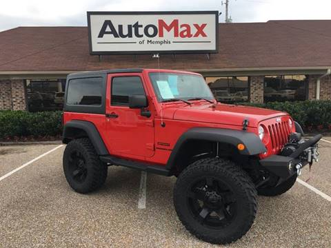 2014 Jeep Wrangler for sale at AutoMax of Memphis - ALVIN BAILEY in Memphis TN