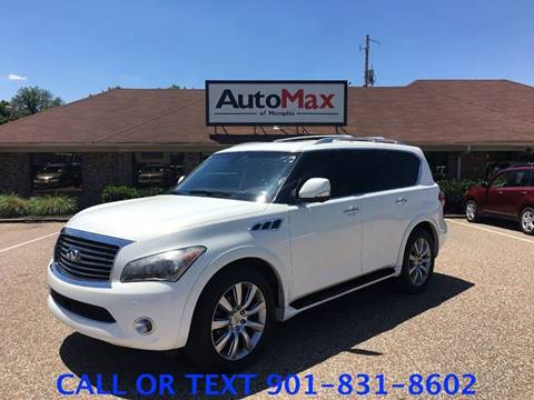 2011 Infiniti QX56 for sale at AutoMax of Memphis - David Harper in Memphis TN