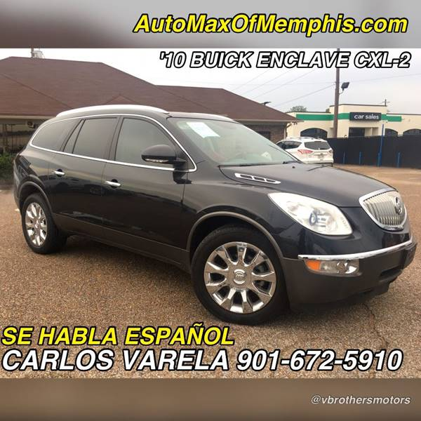 2010 Buick Enclave for sale at AutoMax of Memphis - V Brothers in Memphis TN