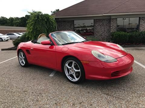 2004 Porsche Boxster for sale at AutoMax of Memphis - Darrell James in Memphis TN