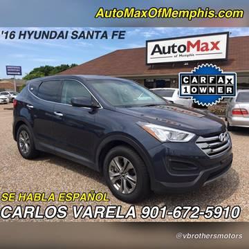 2016 Hyundai Santa Fe Sport for sale at AutoMax of Memphis - V Brothers in Memphis TN