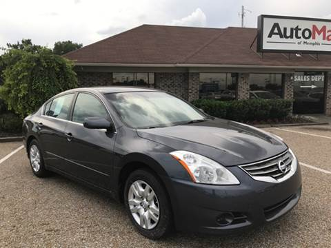 2012 Nissan Altima for sale at AutoMax of Memphis - Darrell James in Memphis TN