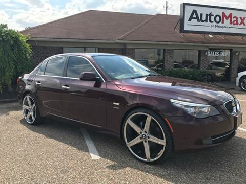 2010 BMW 5 Series for sale at AutoMax of Memphis - Darrell James in Memphis TN
