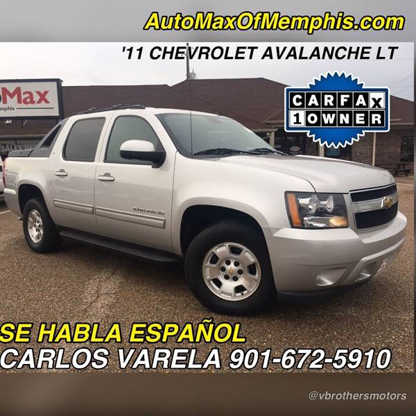 2011 Chevrolet Avalanche for sale at AutoMax of Memphis - V Brothers in Memphis TN