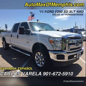 2011 Ford F-250 Super Duty for sale at AutoMax of Memphis - V Brothers in Memphis TN