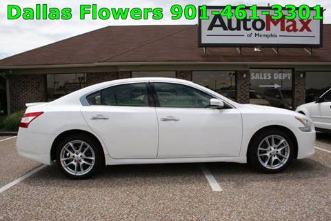 2011 Nissan Maxima for sale at AutoMax of Memphis - Dallas Flowers in Memphis TN