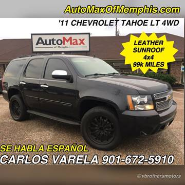 2011 Chevrolet Tahoe for sale at AutoMax of Memphis - V Brothers in Memphis TN