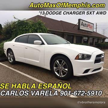 2013 Dodge Charger for sale at AutoMax of Memphis - V Brothers in Memphis TN
