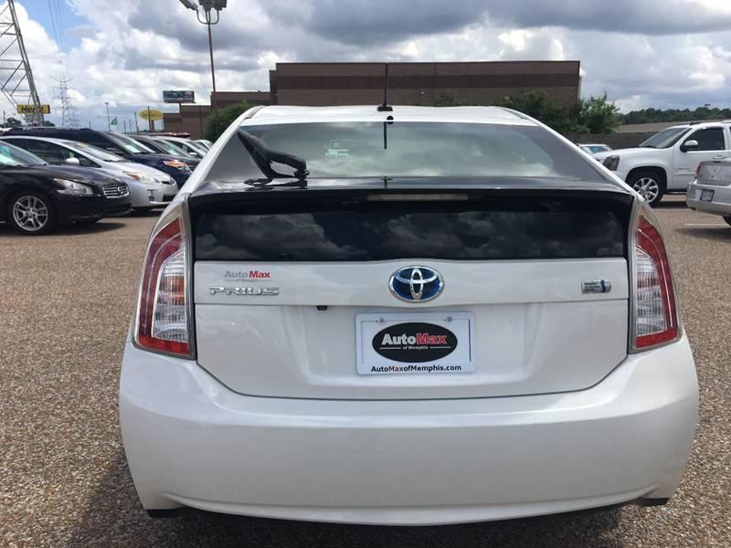 2012 Toyota Prius for sale at AutoMax of Memphis - David Harper in Memphis TN