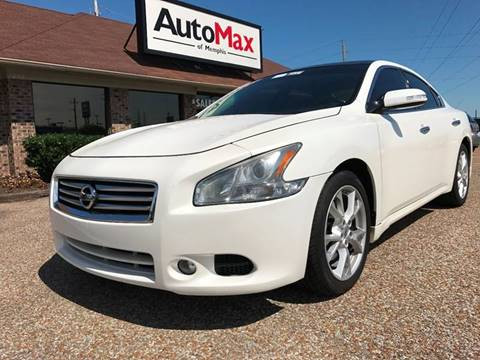 2012 Nissan Maxima for sale at AutoMax of Memphis - Jason Wulff in Memphis TN