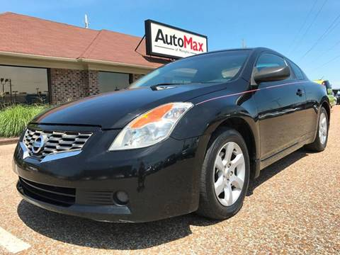 2008 Nissan Altima for sale at AutoMax of Memphis - Jason Wulff in Memphis TN