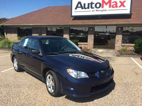 2006 Subaru Impreza for sale at AutoMax of Memphis - Dallas Flowers - Darrell James in Memphis TN