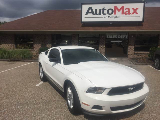 2012 Ford Mustang for sale at AutoMax of Memphis - Dallas Flowers - Darrell James in Memphis TN