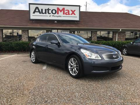 2008 Infiniti G35 for sale at AutoMax of Memphis - Darrell James in Memphis TN