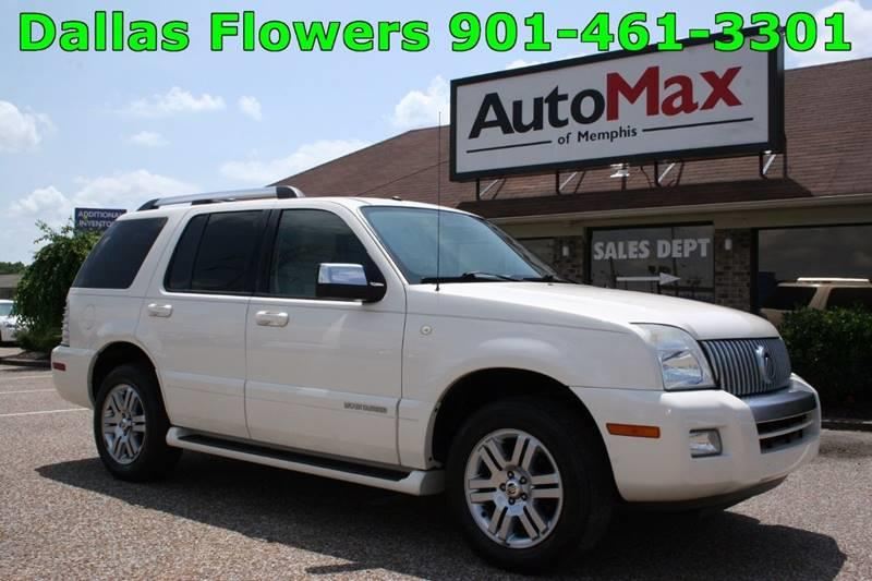 2007 Mercury Mountaineer for sale at AutoMax of Memphis - Dallas Flowers in Memphis TN