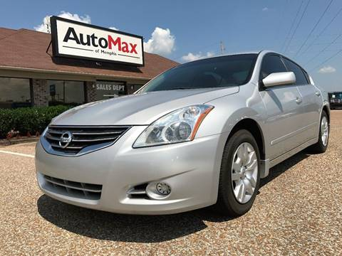 2011 Nissan Altima for sale at AutoMax of Memphis - Jason Wulff in Memphis TN