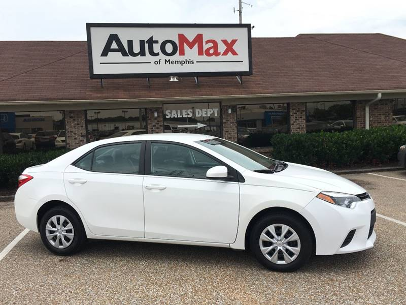 2016 Toyota Corolla for sale at AutoMax of Memphis - V Brothers in Memphis TN