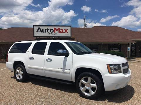 2008 Chevrolet Suburban for sale at AutoMax of Memphis - David Harper in Memphis TN