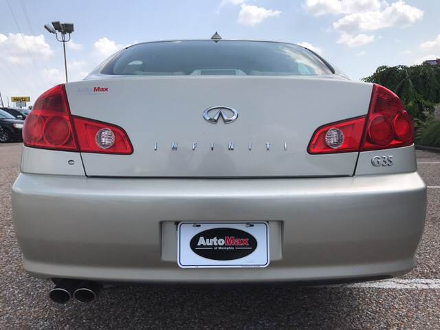 2006 Infiniti G35 for sale at AutoMax of Memphis - Jason Wulff in Memphis TN